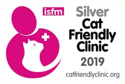 ISFM Cat Friendly Clinic 2019 Silver